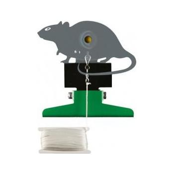 """Terč kovový """"potkan"""" sklopný"""