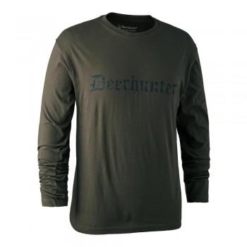 DEERHUNTER Logo T Shirt L/S...