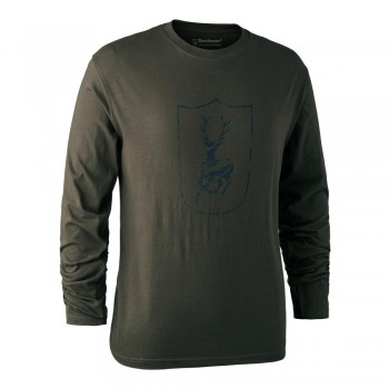DEERHUNTER Shield Logo T...