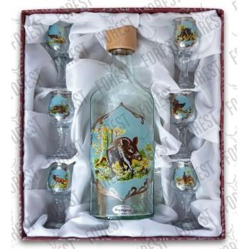 Jagerglass - fľaša veľká +...