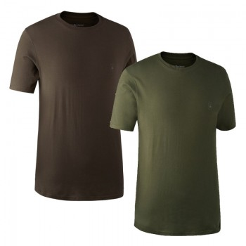 DEERHUNTER T-Shirt 2 Pack |...