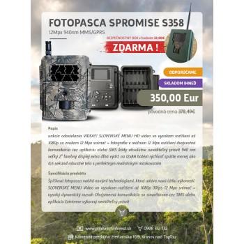 Fotopasca SPROMISE S358...