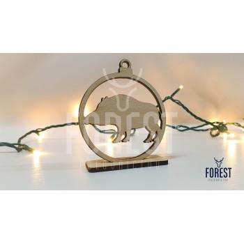 Vianočná Ozdoba-Diviak