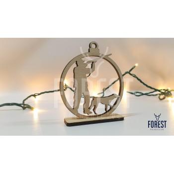 Vianočná Ozdoba-Lovec